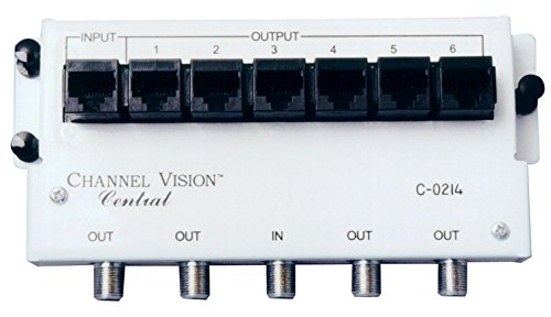 Channel Vision C-0214 Basic Service Module 4-Way Splitter