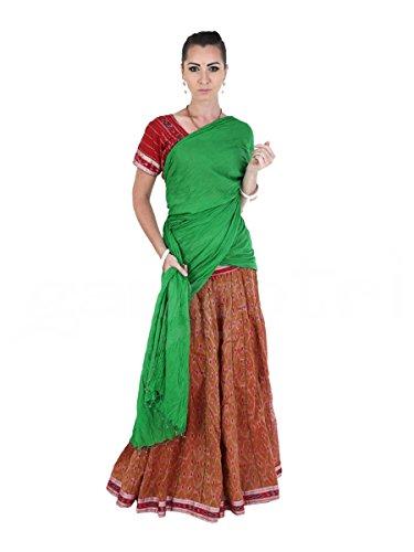 Gopi Dress Set 40 Panel Brown