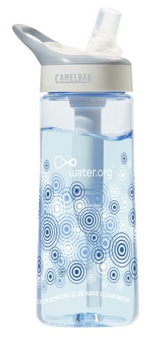Limited Edition Water.org CamelBak Groove Water Bottle (Blue)