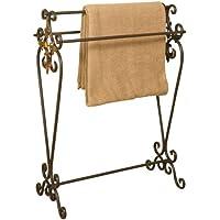 Oil Rubbed Bronze Metal Quilt Rack