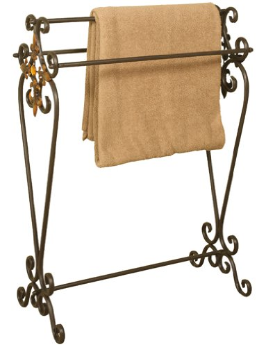 Welcome Home Accents Oil Rubbed Bronze Metal Quilt Rack