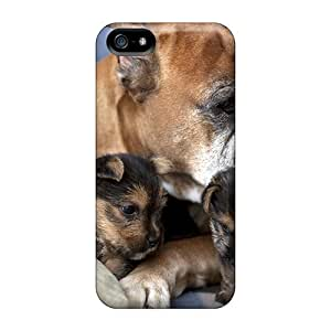 5/5s Scratch-proof Protection Case Cover For Iphone/ Hot Dog Puppies Phone Case