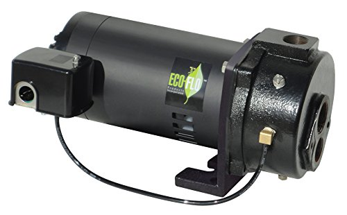 Wayne Convertible Well - ECO-FLO Products EFCWJ7 Deep Water Water Well Jet Pump, 3/4 HP, 7 GPM