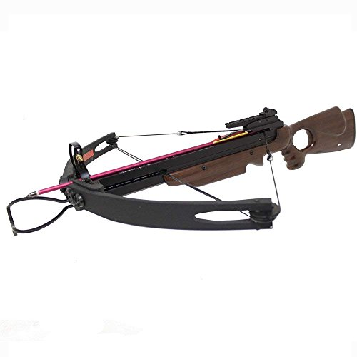 Spider 150 lbs Compound Hunting Crossbow - Wood
