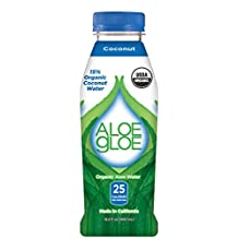 Aloe Gloe Organic Coconut Aloe, 450ml