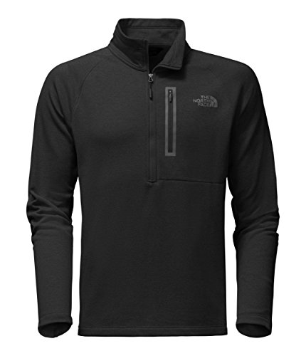 The North Face Men's Canyonlands 1/2 Zip TNF Black 2 Large (Bionic Mens Vest)
