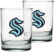 Seattle Kraken Rocks Glass Set