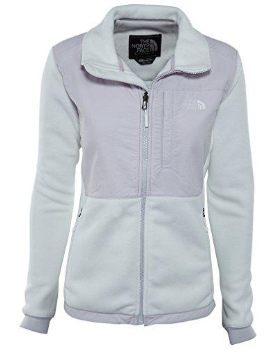 The North Face Women's Denali 2 Jacket TNF White/Lavender Blue (Blue Denali Fleece)