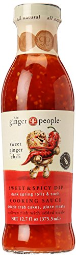 (Ginger Sweet Chili Sauce - Sweet and Spicy Dip Cooking Sauce | Organic and Brings Natural Taste of Ginger, Chili, and Red Pepper | Full of Life and Good Health | 12.7 oz)