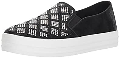 Skechers Womens 747 Double Up - Stained Glass Black Size: 6