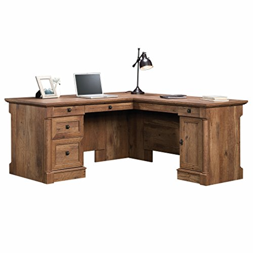 Palladia Collection - Sauder 420606 Palladia L-Shaped Desk, L: 68.74