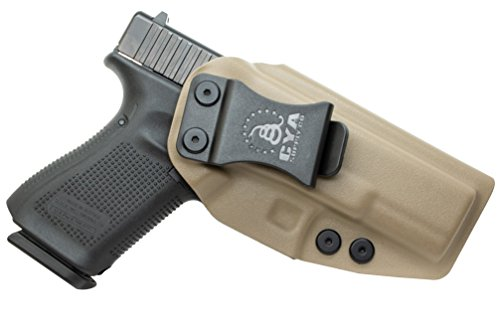 CYA Supply Co. Inside Waistband Holster Concealed Carry IWB Veteran Owned Company (Flat Dark Earth, 003- Glock 19/23/32/19X/45)