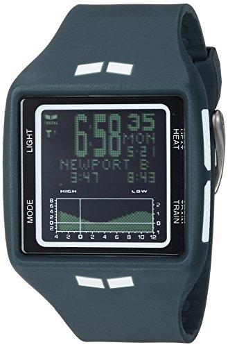 Vestal Unisex BRG037.N Brig Digital Display Quartz Grey Watch