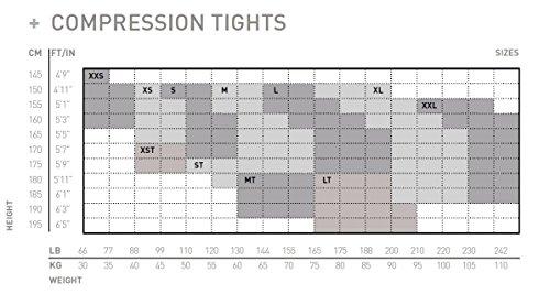 spazio Wa4602 Fitness U Phantom Donna Maze 2 compressione x con Calzamaglia da Black archiviazione black di Ttgz1tqxw