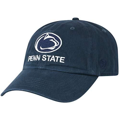 Top of the World Penn State Nittany Lions Men's Vintage Hat Vault Icon, Navy, Adjustable (State Hats Penn)