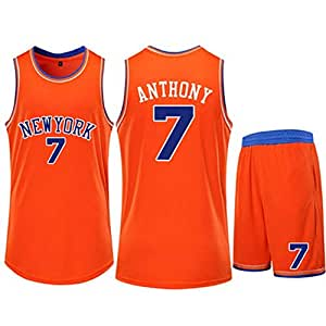 CCKWX Jersey Denver Nuggets para Hombre - Carmelo Anthony # 7 New ...