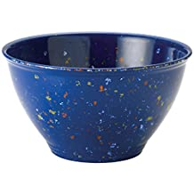 Rachael Ray Melamine Garbage Bowl with Rubber Foot-Blue