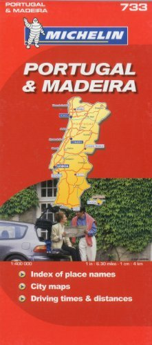 Michelin Portugal & Madeira Map by Michelin (December 01,2006)
