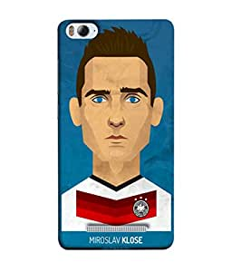 ColorKing Football Klose Germany 01 Blue shell case cover for Xiaomi Redmi 4A