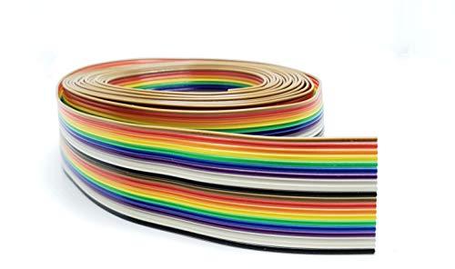 Pc Accessories - Connectors Pro 10 Feet IDC 20P Rainbow Flat