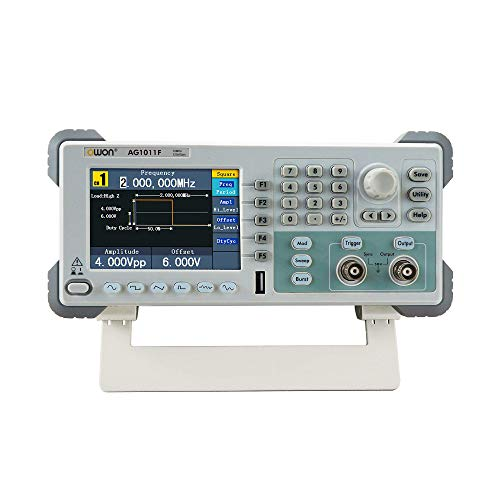 Owon AG1011 Single-Channel 125MS/s Multi-Function Arbitrary Waveform Generator
