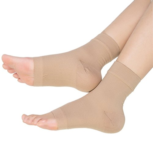 Ailaka Medical 20-30 mmHg Plantar Fasciitis Socks for Men & Women, Heel Arch Ankle Support Compression Foot Sleeves, Great Foot Care for Pain Relief, Swelling, Nurses, Maternity, Pregnancy, Running