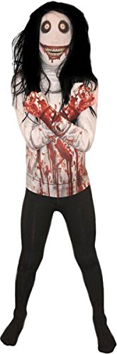 Jeff The Killer Kids Morphsuit Large -