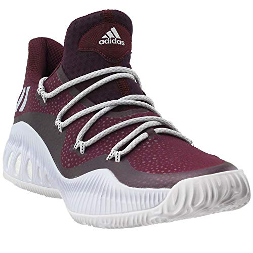 adidas Crazy Explosive Low Shoe - Men's Basketball 6.5 Maroon/White/Black