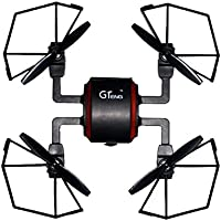Owill GTeng Goolsky T901F 5.8G FPV Drone with 720P HD Camera Headless Quadcopter 2.4GHz USB Helicopter (Black)