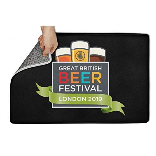 Halloween Festival 2019 London (ULYTER Great American Beer Festival London 2019 OutdoorLatex Backing Quick Dry Non Slip 31
