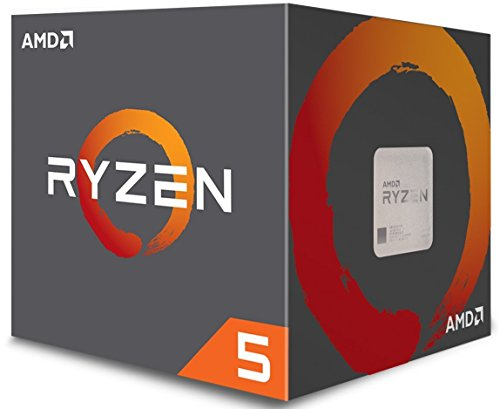AMD Ryzen 5 1500X Processor with Wraith Spire Cooler (YD150XBBAEBOX) by AMD