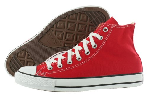 Converse  Chuck Taylor All Star High Top Shoe, red, 5.5 M US