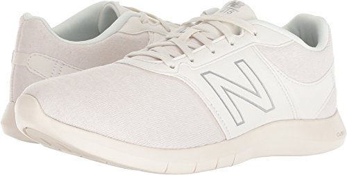 New Balance Women's 415v1 Cush + Sneaker, Cream, 9 D US