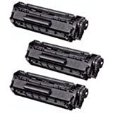 Amsahr Remanufactured Toner Cartridge Replacement for HP Q7516A ( Black , 3-Pack )