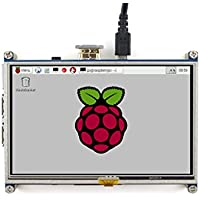 JES 5inch Resistive Touch Screen 800x480 Resolution HDMI interface Supports all Revisions of Raspberry Pi