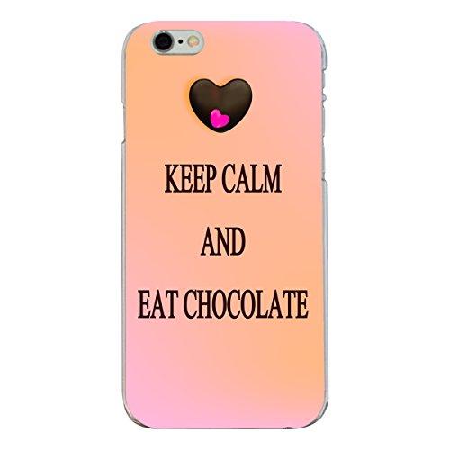 "Disagu Design Case Coque pour Apple iPhone 6s Housse etui coque pochette ""KEEP CALM AND EAT CHOCOLATE"""
