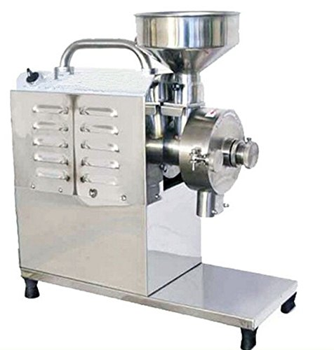 inese Herb Grinder, Sugar Peppe Mill, Soybean Grain Food Grinding Machine, STAINLESS STEEL ()