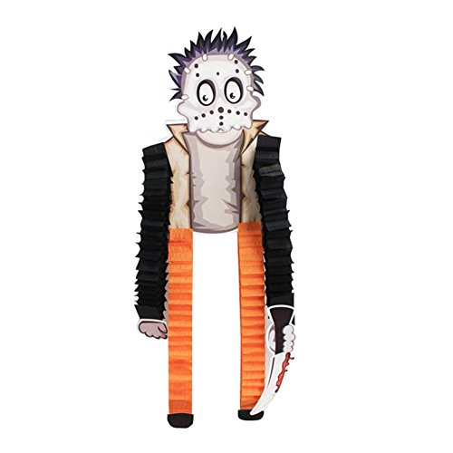 ZCON Halloween Decoration Props Witch Vampire Beetle Witch Foldable Hanging Paper - Frankenstein -