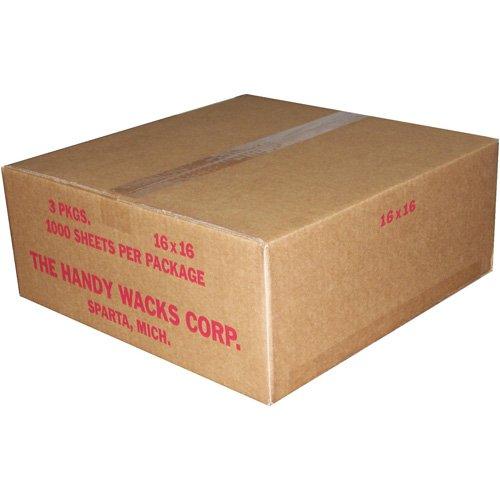 16X16 Flat Deli Paper - 3000 count