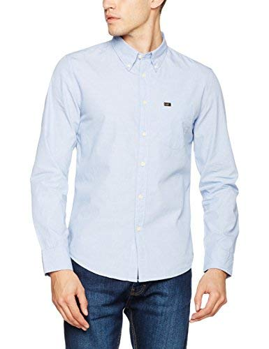 Lee Button Down Shirt Camicia Uomo: Amazon.it: Abbigliamento