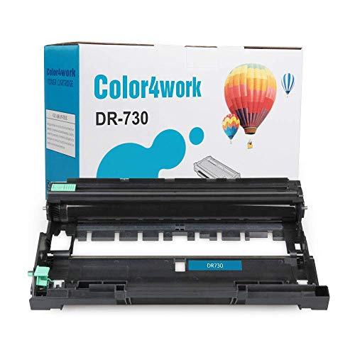 COLOR4WORK Replacement for Brother DR730 Drum Unit 1-Pack, Page Yield Up To 12,000 Pages, Compatible For Brother MFC-L2710DW HL-L2350DW HL-L2370DW HL-L2390DW HL-L2395DW DCP-L2550DW MFC-L2750DW Printer Photo #1