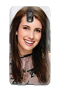 New Galaxy Note 3 Case Cover Casing Emma Roberts?wallpaper