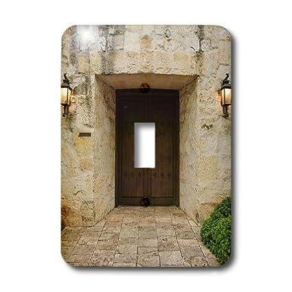 The Alamo-US44 MDE0072-Michael DE Freitas Single Toggle Switch Multicolor 3dRose lsp/_94498/_1 Texas San Antonio
