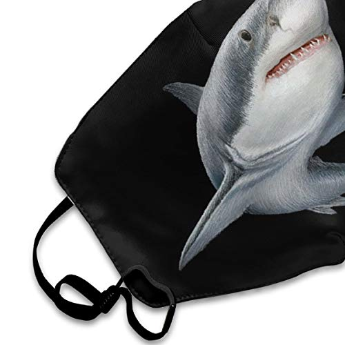 NOT Shark Printed Personality Lovely Unisex Dust Mask, Suitable for Young Men and Women, Ski Bike Camping Windproof Motorcycle Face Mask