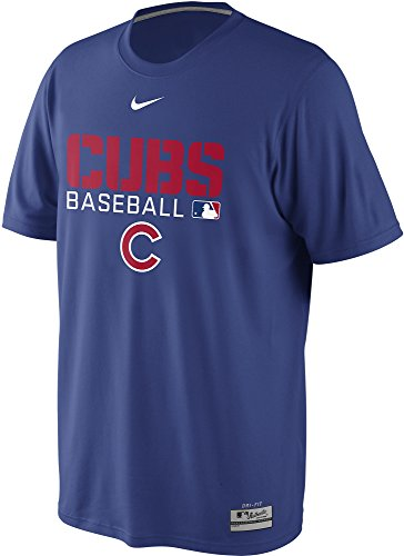 Nike Chicago Cubs Baseball MLB AC Dri-FIT Legend Team Issue Men's T-Shirt (Nike Chicago Cubs Heather)