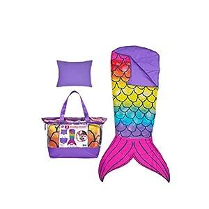 3C4G Mermaid Tail 3 Piece Spectacular Sleeping Bag Set