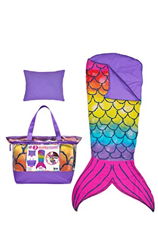 - 3C4G Mermaid Tail 3 Piece Spectacular Sleeping Bag Set