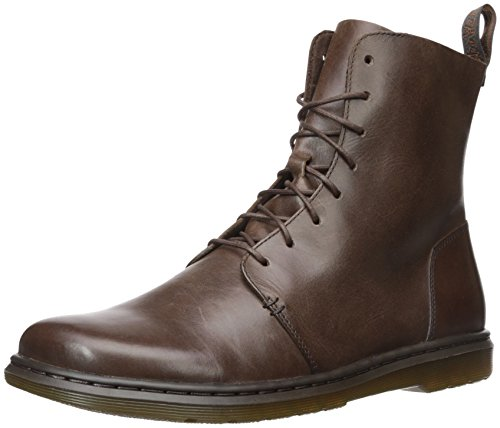 Dr. Martens Women's Danica Ankle Boot, Dark Brown, 8 Medium UK (10 (Loop Leather Ankle Boots)