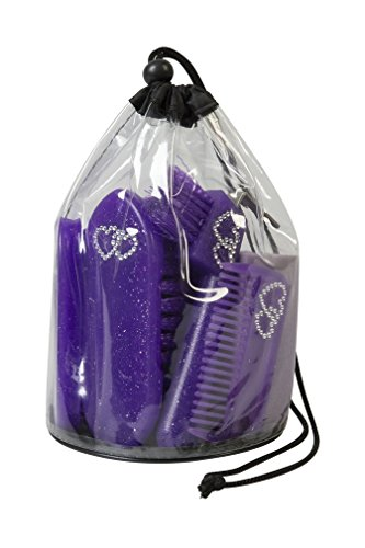 Weaver Leather Youth Grooming Kit, Purple