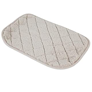 SNOOZZY CREAM 17.5X11.5 QUILTED MAT